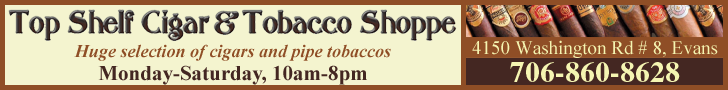 Top Shelf Cigar and Tobacco Shop 728x90 leaderboard