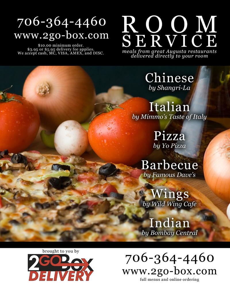 2go-Box Delivery Print Flyer (outside)