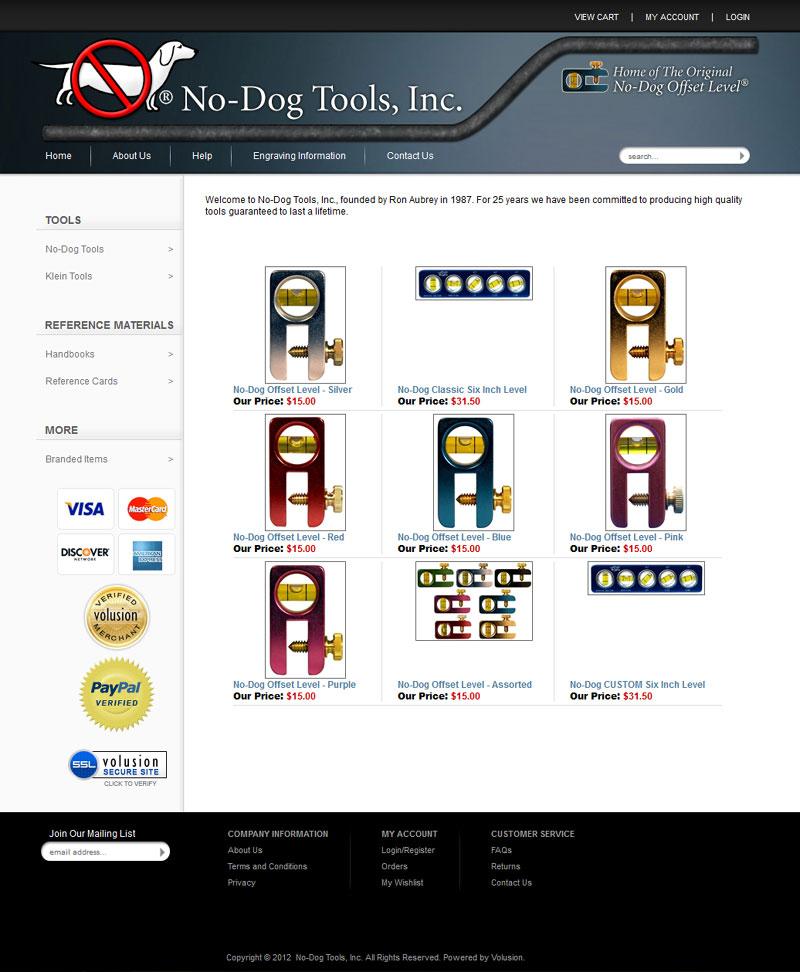No-Dog.com screenshot